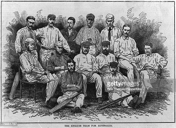 Sport Cricket England tour to Australia 18761877 The England cricket team which played the first test series in Australia James Lillywhite's...