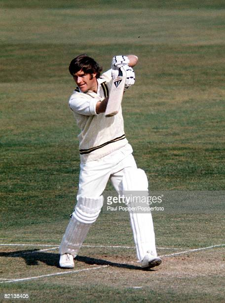Sport Cricket England Warwickshire and England's Dennis Amiss