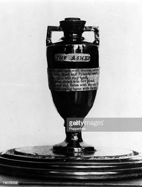 Sport Cricket One of the most famous sporting trophies The Ashes It was in 1882 after the bowling of 'Demon' Spofforth and Boyle had bowled England...