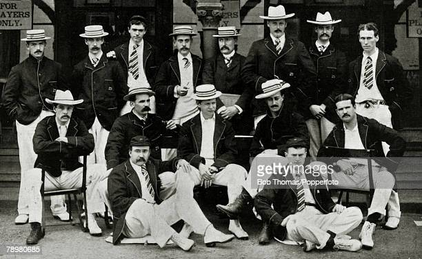 1897 The Philadelphia Cricket Team Tour of England 1897 The tour extended to nearly 8 weeks during which the American team played 15 matches winning...