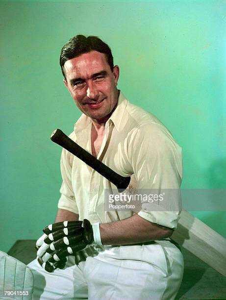 1949 Denis Compton the Middlesex and England cricketer and also a successful footballer with Arsenal