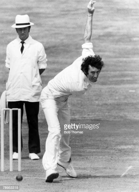1976 4th Test Match at Headingley England v West Indies England pace bowler John Snow in action John Snow who made his name at Sussex and played Test...