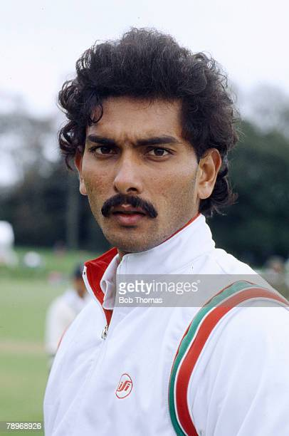 1980's Ravi Shastri India slow left arm bowler and middle order batsman who played in 80 Test matches for India 19811992