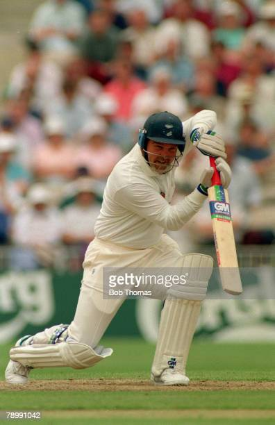 1993 Old Trafford Manchester Mike Gatting England batsman Mike Gatting had a long Test career playing for England from 19771995 and as captain...