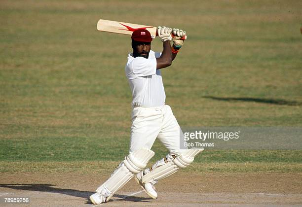 24/21/3 1990 Ist Test Match in Kingston England beat West Indies by 9 wickets Viv Richards West Indies Viv Richards played in 121 Test matches for...