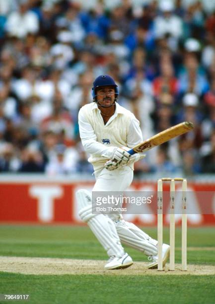 25th May 1991 One Day International at Old Trafford England beat West Indies England batsman Allan Lamb Allan Lamb played in 79 Test matches for...