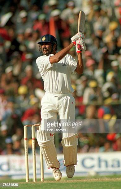 26th February 1993, 3rd I Day International in Bangalore, England beat India by 6 wickets Kapil Dev, India, at the crease, Kapil Dev was the first...