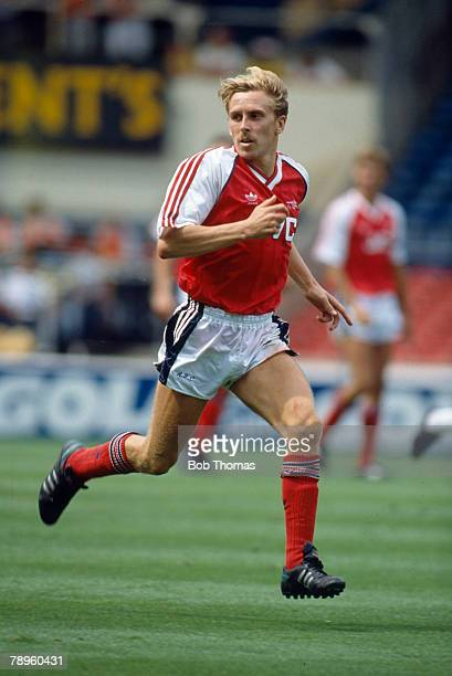 29th July 1989 The Makita International at Wembley Kevin Richardson Arsenal midfielder 19871990