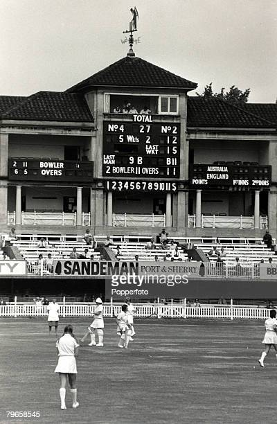 4th August 1976 A general view of the England v Australia Women's Cricket International at Lord's