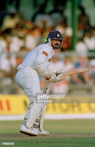 April 1994 4th Test Match in Barbados England beat West Indies by 208 runs Jack Russell England wicketkeeper Jack Russell who played county cricket...