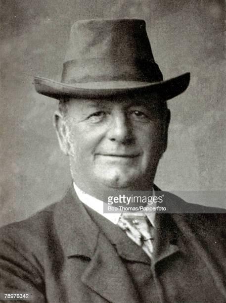Circa 1900, Alfred Cockerill Northamptonshire Businessman, Freemason and County Councillor, who gave the Northamptonshire Cricket Club the County...