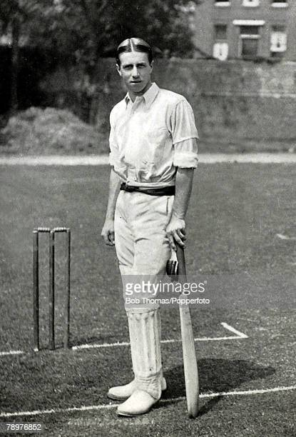 circa 1906 John William Henry Tyler Douglas who played for Essex 19011928 and for England 19111925 in 23 matches He led England on two tours to...