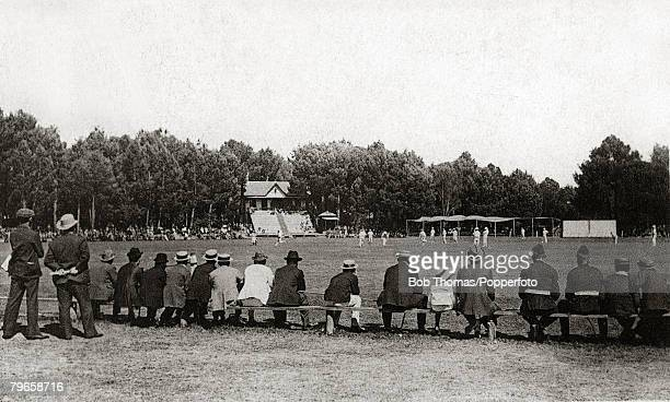 circa 1925 Newlands Cricket Ground Cape Town South Africa