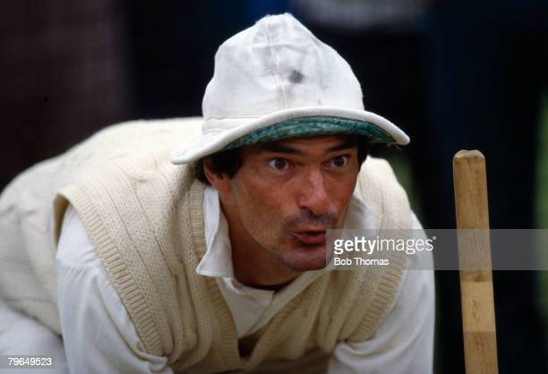circa 1978 Alan Knott Kent and England wicketkeeper who played in 95 Test matches for England between 19671981