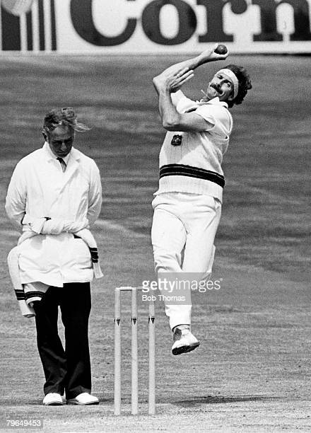 circa 1980 Dennis Lillee A ustralia fast bowler who played for Australia in 70 Test matches between 19701984