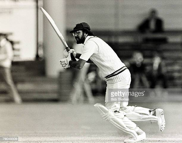 circa 1980 Zaheer Abbas born 1947 Gloucestershire and Pakistan