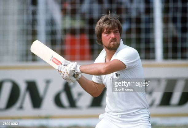circa 1984 Mike Gatting Middlesex and England batsman Mike Gatting had a long Test career playing for England from 19771995 and as captain famously...