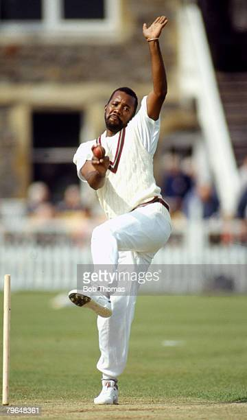 circa 1987 Malcolm Marshall West Indies fast bowler Malcolm Marshall played in 81 Test matches for the West Indies between 19781991 but he tragically...