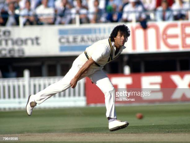 July 1987 4th Cornhill Test Match at Edgbaston England v Pakistan Imran Khan Pakistan Imran Khan played in 88 Test matches for Pakistan between...