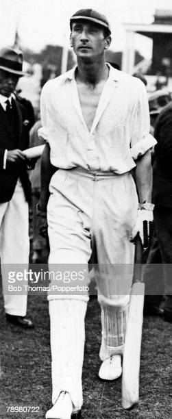 June 1931, Douglas Jardine, Surrey and England, Douglas Jardine played in 22 Test matches for England between 1928-1934, and was captain of England...