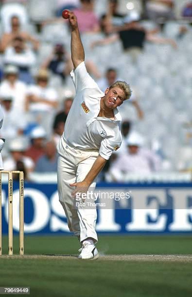 June 1993 1st Test Match at Old Trafford Australia beat England by 179 runs Shane Warne Australia