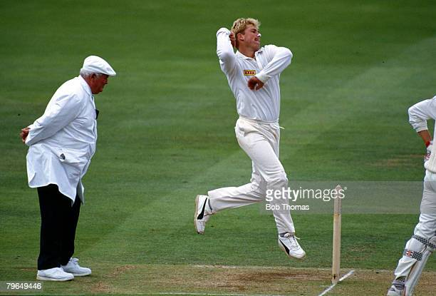 June 1993 2nd Test Match at Lord's Australia beat England by an Innings and 62 runs Shane Warne Australia