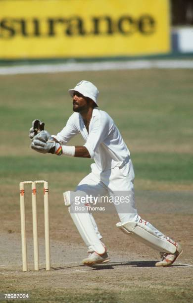 March 1990 Kingston Jamaica Jeffrey Dujon West Indies
