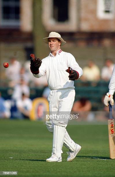 May 1989 County Cricket Phil Whitticase Leicestershire wicketkeeper