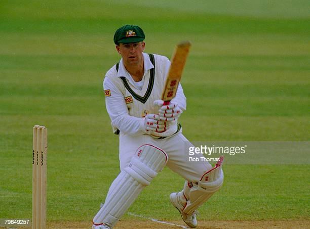 May 1993 Tour Match Northamptonshire v Australia Mark Taylor Australia opening batsman