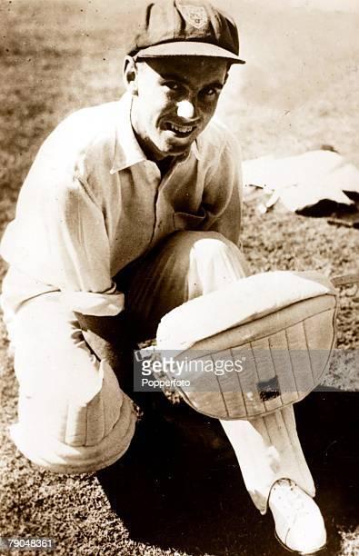 Sport Cricket Postcard Ian Craig New South Wales and Australia