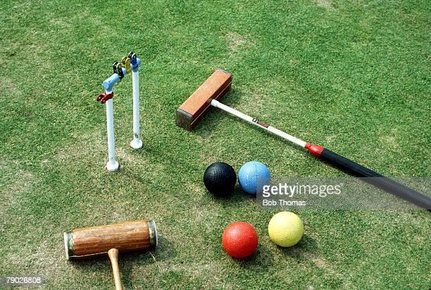 Sport Croquet England 1980's Croquet equipment