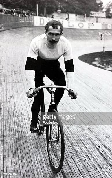 Sport Cycling France's Rene Pottier the 1906 winner of the Tour de France