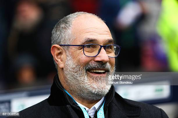 Sport Director Andoni Zubizarreta of Marseille during the French National Cup match between Toulouse FC and Olympique de Marseille round of 64 on...