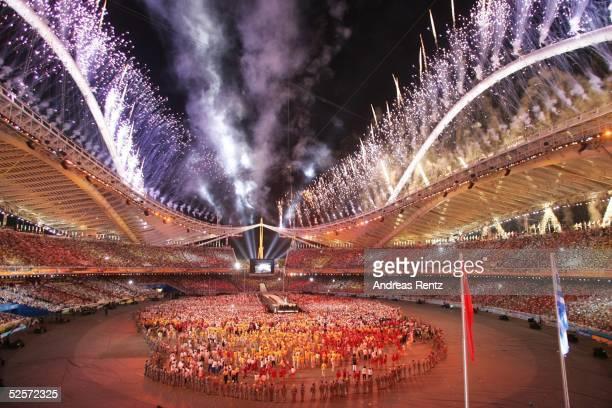 Sport / Diverses: Olympische Spiele Athen 2004, Athen; Abschlussfeier 29.08.04.