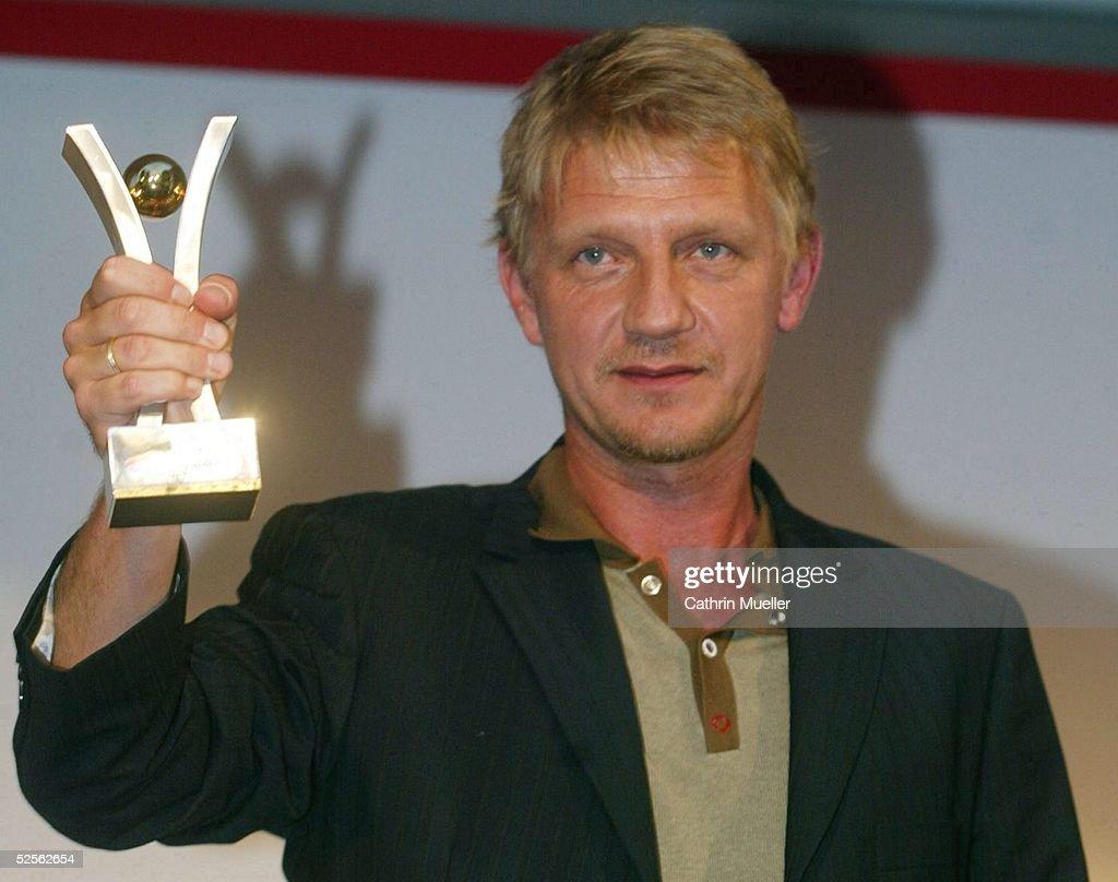 Sportbild Award 2004, Hamburg; Soenke WORTMANN / Regisseur erhielt ...