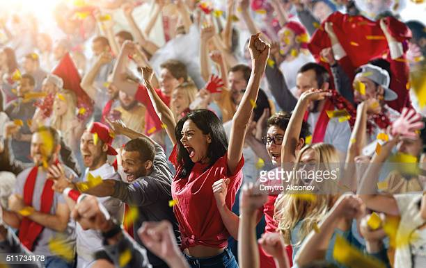sport fans - supporter stock pictures, royalty-free photos & images
