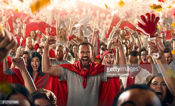 sport fans - fan enthusiast stock pictures, royalty-free photos & images
