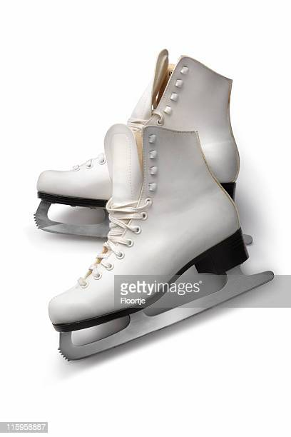 sport: figure skates - ice skate stock pictures, royalty-free photos & images