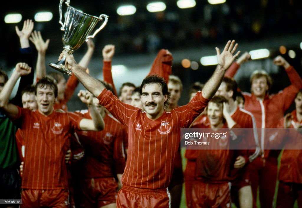 Sport, Footb all, pic: 11th May 1983, European Cup Winners Cup Final in Gothenburg, Aberdeen 2 v Real Madrid 1 : News Photo
