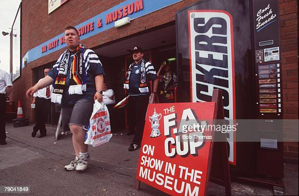 Sport Football 1996 European Championships 9th June 1996 Old Trafford Manchester Germany 2 v Czech Republic 0 Entrance to the Sir Matt Busby Suite...