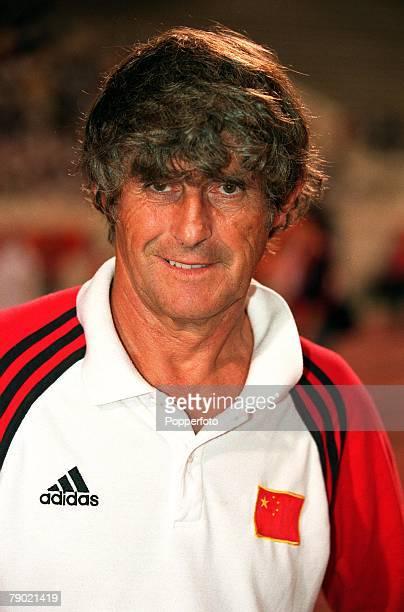 Sport, Football, 2002 World Cup Qualifier, AFC, Second Round, Group B, Doha, 7th September 2001, Qatar 1 v China PR 1, China coach Bora Milutinovic