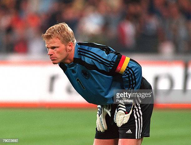 Sport Football 2002 World Cup Qualifier Group 9 Munich 1st September 2001 Germany 1 v England 5 German goalkeeper Oliver Kahn during the match