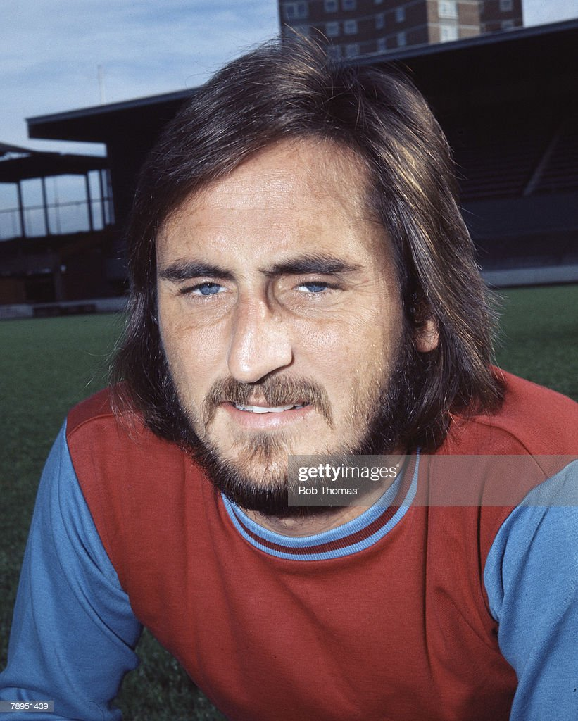 Sport. Football. 25th August 1972. Portrait of Frank Lampard of West Ham. : News Photo