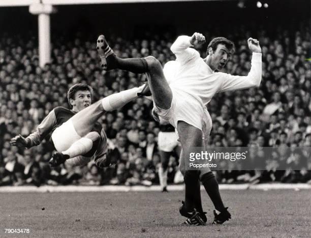 Sport Football 2nd September 1967 League Division One Upton Park London England West Ham United v Manchester United West Ham United's Martin Peters...