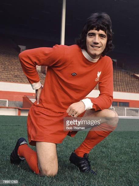 Sport Football 5th October 1973 Portrait of Kevin Keegan of Liverpool