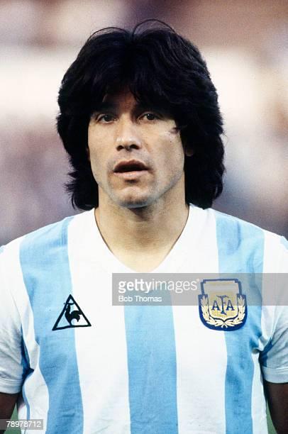 Sport Football 5th September 1984 Brussels Marcelo Trobbiani Argentina
