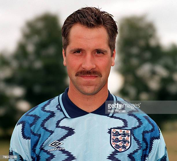 Sport Football 5th September 1993 A portrait of Arsenal and England goalkeeper David Seaman