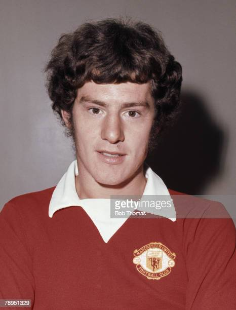 Sport Football 9th August 1972 Portrait of Brian Kidd of Manchester United