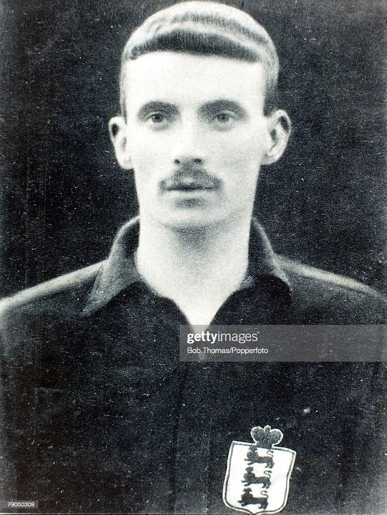 Sport, Football, 1902, A picture of James Iremonger who played for Nottingham Forest and England