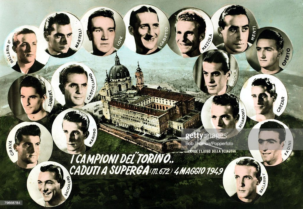 UNS: 4th May 1949 - The Torino FC Tragedy At Superga
